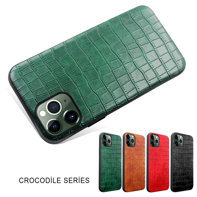 Чехол крокодил зеленый